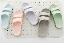 Wholesale C Room - Bathroom slippers, men and women plastic home, slippers