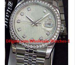 2019 cheio de ss Chegam novas relógios de Luxo caixa de presente livre relógio de Pulso dos homens de Ouro Branco SS DIAMOND Jubileu Completo 116244 cheio de ss barato
