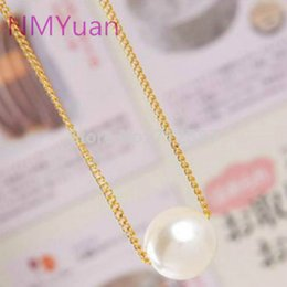 Wholesale Simple Short Necklace Pendant - Fashion Simple Imitation Pearl Temperament Short Necklace Modern Pearl Necklace Wholesale Wild Woman