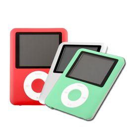 "Wholesale 8gb 3th - Wholesale- NEW STYLE BEST SALE 8GB 1.8"" 3TH FM MP3 PLAYERS FM Raido EBOOK MUSIC Mini Light PLAYER 6 Colors"