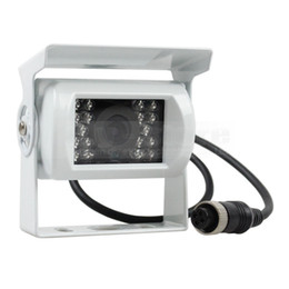 Wholesale Dc Van - 4PIN Van Bus Lorry Camera Rear View Reversing Parking Camera Car Camera Waterproof IR Night Vision 12V-24V DC