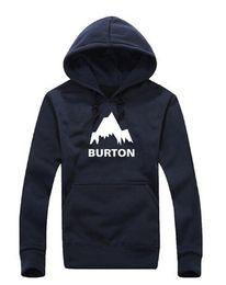 Wholesale Mens Mountain - Wholesale-hip hop men hooded sweatshirt,Famous fashion mens hoodies,BURTON mountain climbing tide models hedging hoodies M-3XL