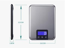 Wholesale Kitchen Scale Stainless Steel Slim - Free 15KG 1g touch screen Digital Kitchen Scale 15kg Big Food Diet Weight Balance Slim Stainless Steel Electronic Scales