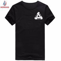 Wholesale Thin Fashion Shirts Wholesale Women - Wholesale- Women Skateboards Brand Palace 100% Polyester Thin Print Tshirt Women Compression T shirt Women T-shirt Kid Brand-Clothes,PY058