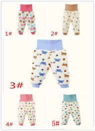 Wholesale High Waisted Pants Sale - hot sale 2015 High quality duarable winter children cotton blend high waisted pants double thick warm baby long trousers pants A012910
