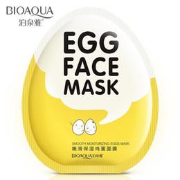Maschere coreane online-Commercio all'ingrosso- 2 pezzi nuovo arrivo uovo bellezza cura maschera idratante anti-pilaten cosmetici coreani di maquiagem per le donne