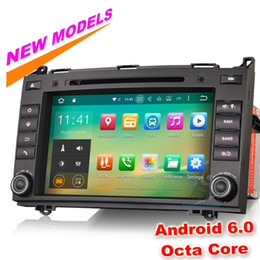 "Wholesale Mercedes Vito Dvd - 8"" Octa-Core, Android 6.0 Car Stereo Radio for Mercedes Benz A B-Class W169 W245 Viano Vito GPS Navigation DVD DTV-IN WIFI DAB+"