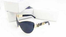Wholesale Large Cat Eye Sunglasses - 2018 New Fashion Medusa Men Women Sun Glasses Protection Italy Brand Designer 2168 Sunglasses High-grade Large Shading Sunglasses
