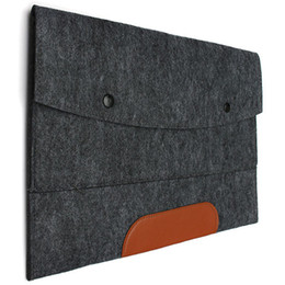 Wholesale 11 Inch Tablet Sleeve - New Notebook Laptop Sleeve for Macbook Air Pro Case Cover 11 13 15 Inch Computer Bag Laptop Bag Best Price Tablet Accessories