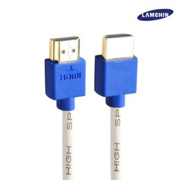Wholesale High Speed Composites - HDMI 2.0 Cable 2M 6FT High Speed Full HD for HDTV LCD Laptop PS4 with Package