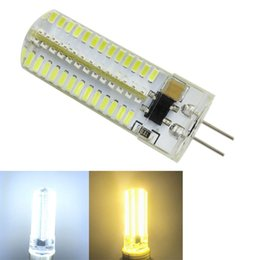 Canada G4 Bi-Pin Dimmable 152-3014 Puce SMD Blanc chaud / froid Ampoule LED Cristal de Silicone 5W CA 110V 220V supplier epistar chip led dimmable Offre
