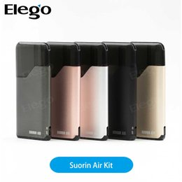 Wholesale 100 Original Suorin Air Kit W ml with a mAh battery features on off switch indicator light and refilling design