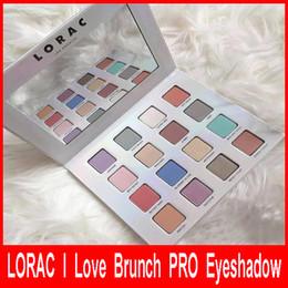 Wholesale I 16 - New Arrival LORAC Eyeshadow LORAC I Love Brunch PRO 3 Eyeshadow Palette Eye Shadow 16 colors