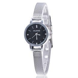 Wholesale Thin Diamond Belts - Geneva The new foreignwatches alloy thin mesh belt watches wholesale fashion students golden diamond table