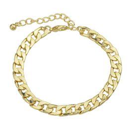 Wholesale Arriva Fashion - Latest Fashion Concise Gold Color Chain Bracelet for Women Wholesale Factory Price New Arriva