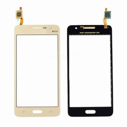 Wholesale screen replacements for phones - 50pcs lot For Samsung Galaxy Grand Prime G531 G530 Touch Screen Touch Panel Digitizer Sensor Glass Lens Repair Replacement Phone Parts