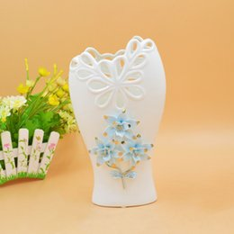Wholesale Shoe Flower Vases - Supplies 2214 High Archives New Peculiar Blue FLOWER Vase Home Furnishing A Decoration Renovation Necessary A New House Accessories