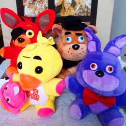 Canada Jeu 18CM Cinq Nuits à Freddy's Peluche Bonnie / Foxy / Freddy / Chica Feuver Fever Peluche Toy Stuffed Soft Dolls TA199 anime video games for sale Offre