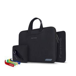 Wholesale Neoprene Tablet Bags - cartinoe brand unisex fashion messenger laptop bag shoulder tablet bag for 12 13 inch flat computer