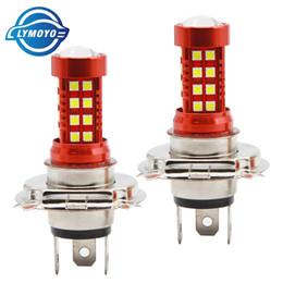 Wholesale fog lamps auto - LYMOYO car H4 led HI LO H7 55w auto car Light 36SMD 3030LED white daytime running light foglamp Headlight Light Lamp DC12 5000K