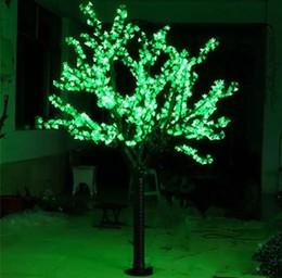 LED Artificiale Cherry Blossom Tree Light Luce di Natale 1248 pz LED Lampadine 2 m / 6.5ft Altezza 110/220 VAC Antipioggia Uso Esterno Spedizione Gratuita da