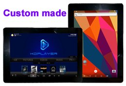 Wholesale Android Tablet Hdmi 8gb - 4pcs Custom Made 10.1inch IPS screen HDMI 1080P Tablet PC Portable smart TV Youtube KDplayer Netflix IPTV Mobdro Hulu MT8127 quadcore