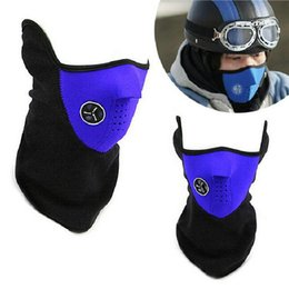 Wholesale Motorcycle Face Covering Mask - New 3 Colors Bike Motorcycle Ski Snowboard Neck Warmer Face Mask Veil Cover Sport Snow DHL fedex Free