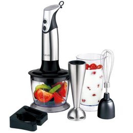 Wholesale Immersion Hand Blenders - Household Food processor kitchen tool vegetable grinder multifunctional hand blender mixing beater fruit grinder kitchenware chopper sets