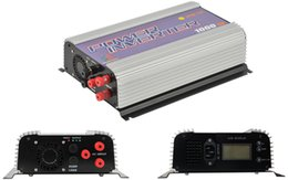 Wholesale Lcd Pure Sine Wave Inverter - 1000W LCD wind grid tie inverter with dump load,MPPT pure sine wave on grid inverter for 3phase AC wined turbine 22-60 45-90V