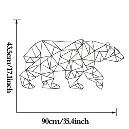 Wholesale Graphic Products - 2016 Sale Estrella Polar Bear Wallpaper Linear Pattern Series Products Home Decor Wall Art Stickers Simple Fashion Decoration free Shipping