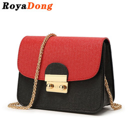 Wholesale Designer Bags Orange - Wholesale-RoyaDong 2016 Women Messenger Bags Women's Handbags Small Chains Designer Cute Lady's Crossbody Bags For Women Candy Color
