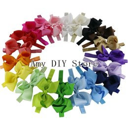 Wholesale Hair Accessories Bow Claws - 6'' big hair bow with elastic bands,kids headband baby headbands,baby hair accessories hairband baby photography props-32pcs HJ008+1.5CM