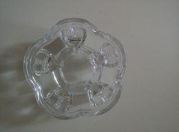 Wholesale Teapot Shape Tea Strainer - 1PC New Glass Heart Shape Warmer, Glass Teapot Heat Base Trivets Tea Accessories Dia.11cm JN 109