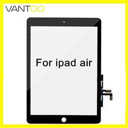 mini obiettivo ipad Sconti Per ipad air ipad 5 touch screen digitizer vetro con ic pulsante home assembly strumenti di riparazione bianco e nero dhl gratuito