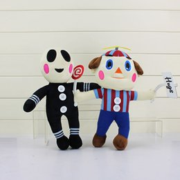Wholesale Clown Stuffed Toy - Wholesale- 14''30cm Five Nights at Freddy's Plush Bonnie Freddy Foxy Clown BB Balloon Boy Plush Toys Stuffed Soft Dolls 2 Styles For Choose