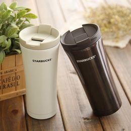 Wholesale Promotional Coffee - Vacuum Stainless Steel Insulation Mug Starbucks Cup Promotional Gift Custom Car Coffee Cup Business Creative mug