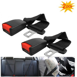 2Pcs Universal Car Seat Seatbelt Safety Belt Clip Extender Extension 7 8 Strap Buckle Free Shipping