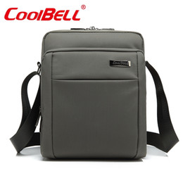 Wholesale Messenger Bag Ipad Sleeve - CoolBell 10 10.6 inch Tablet Laptop Bag for iPad 2 3  4 iPad Air 2 3 Men Women Shoulder Messenger 9 9.7 10.1 inch Tablet Sleeve