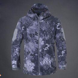 aa52536ee83 Men Jacket Waterproof Outdoor Climbing Hiking Jacket Camouflage Military  Tactical Jacket Hunting Softshell Jackets Free Shipping army gore tex  jacket deals