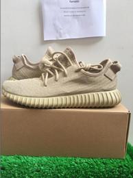 Wholesale Y Shoes Men - (double box send Y 350 Boost Shoes Plus Size Shoes New Arrival Man Woman Fashion Shoes36-48