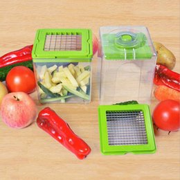 Wholesale Green Cutter Vegetable - Magic Manual Processor Vegetable Fruit Slicer Fruit Salad Cutters Multi-Functional Potato Cutter Shredders Kitchen Dicer Tools