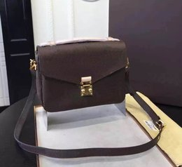 Wholesale Small Shoulder Satchel Men - New luxury orignal real genuine leather lady messenger bag fashion satchel shoulder bag handbag presbyopic mini package mobile phonen purse