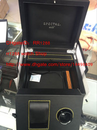 Wholesale Square Red Box Watch Papers - SPECTRE 007 Original Box Gift Box Professional James Bond 007 Watch Original Box Papers Planet Ocean Co-Axial with Certificate