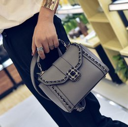 Wholesale Fashon Bags - Fashon Bag Chain Tote Bags for Women PU Leather Handbags with Cross-body Shoulder Strap Lady Bag