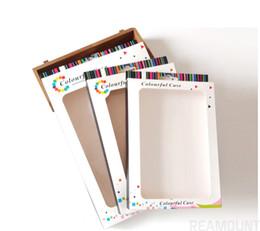 cinta de antena Rebajas Venta al por mayor, logotipo personalizado, caja de embalaje de papel para tablet pad para funda de cuero para caja de embalaje de 7 8 pulgadas con paquete de Windows caja de embalaje