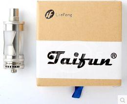 Wholesale Taifun Gt Atomizer - Wholesale- Taifun GT 3 RDA RBA RTA Atomizer Pyrex Glass Tank Vaporizer for E Cigarette 510 Box Mods Electronic Cigarette