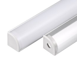 Wholesale aluminium profile - led aluminium profile,2m per Set,LED Aluminum extrusion profile for led strips with milky diffuse cover or transparent cover SN1616
