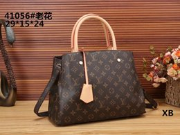 Wholesale Envelope Leather - 2017 Classic Leather black gold silver chain Free shipping hot sell Wholesale retail bags handbags shoulder bags tote bags messenger