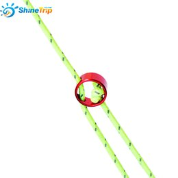 Wholesale Rope Stopper - Outdoor Camping Hiking Wind Rope Buckle Aluminum Alloy Tent Wind Stopper Tent Rope Adjust Tentorial Wigwam Buckle 037