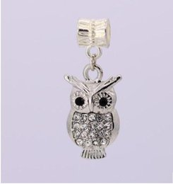 4438386fe Fits Pandora Bracelets 30pc Night Owl Charms Bead Dangle Silver Beads  Floating For Wholesale Diy European Sterling Necklace Jewelry Xmas